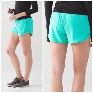 "Lululemon Hotty Hot Shorts Long 4"" Bali Breeze, 6"